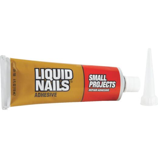 Liquid Nails 4 Oz. Small Projects Repair Multi-Purpose Adhesive