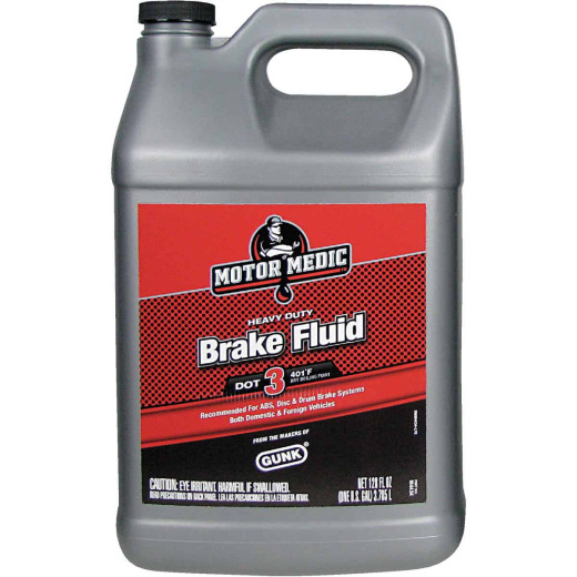 MotorMedic 1 Gal. Heavy-Duty DOT 3 Brake Fluid