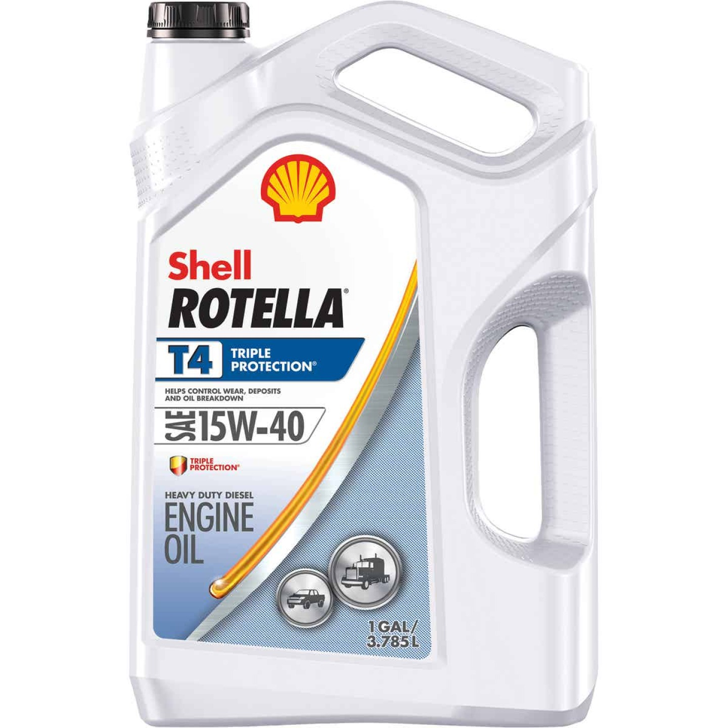 ROTELLA 15W40 Gallon Triple Protection Motor Oil Image 1