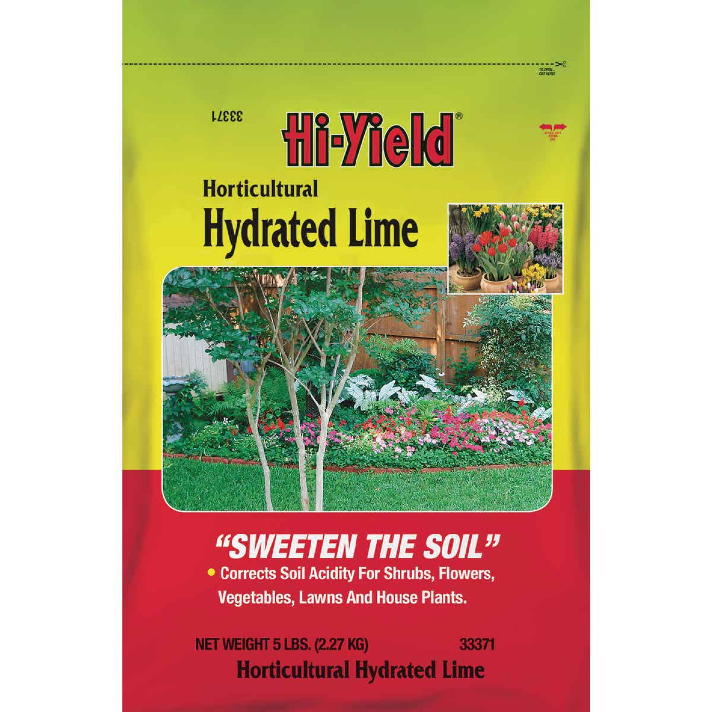 Hi-Yield 5 Lb. 150 Ft. Coverage Plant Bedding Lime Image 1