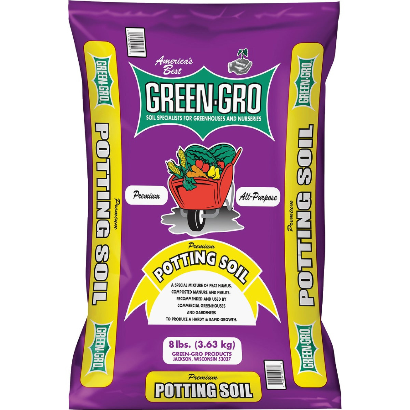 Green Gro 8 Lb. All Purpose Potting Soil Image 1