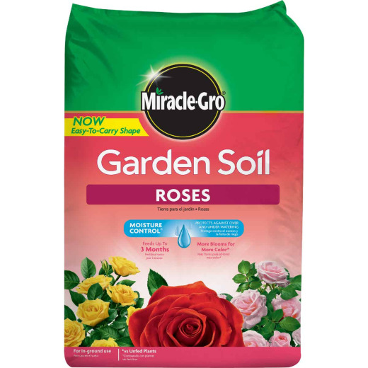 Miracle-Gro 1.5 Cu. Ft. 49 Lb. In-Ground Rose Garden Soil
