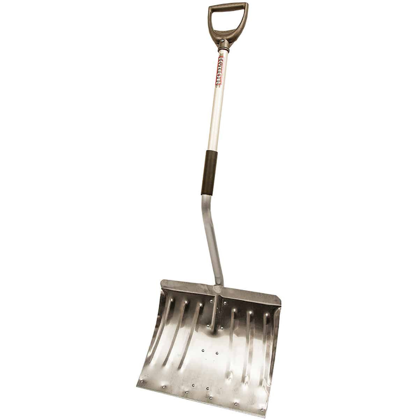 Rugg Back-Saver Lite-Wate 18 In. Aluminum Snow Shovel with 37 In. Aluminum Handle Image 1