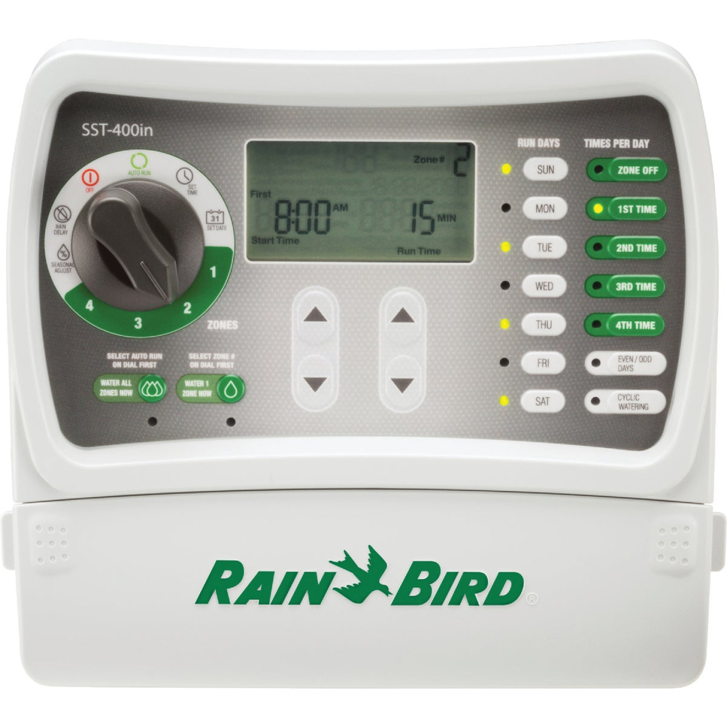 Rain Bird 4-Station Indoor Plug-In Irrigation Sprinkler Timer Image 1