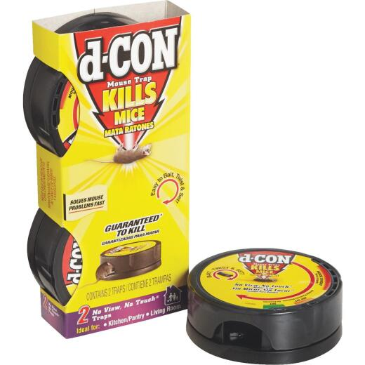 D-Con No View, No Touch Mechanical Mouse Trap (2-Pack)