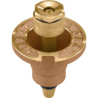 Orbit 1.75 In. Half Circle Brass Sprinkler Pop-Up Head Image 1