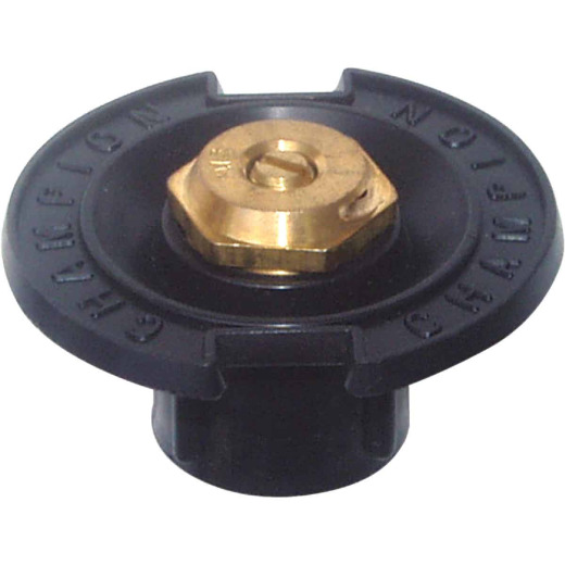 Champion Quarter Circle 1/2 In. FPT Deluxe Plastic Flush Head Sprinkler with Brass Nozzle