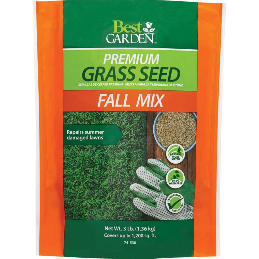 Best Garden 3 Lb. 750 Sq. Ft. Coverage Fall Mix Grass Seed